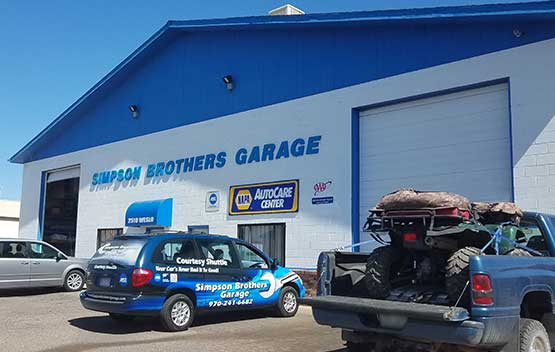 auto repair shop in Grand Junction - Simpson Brothers Garage